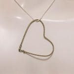 Oli Brown floating heart pendant