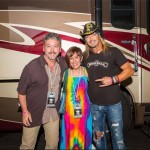 Elisa and Ed Meeting Bret Michaels