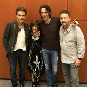Richard Marx and Rick Springfield Meet Elisa and Ed of Stringsforacure Foundation