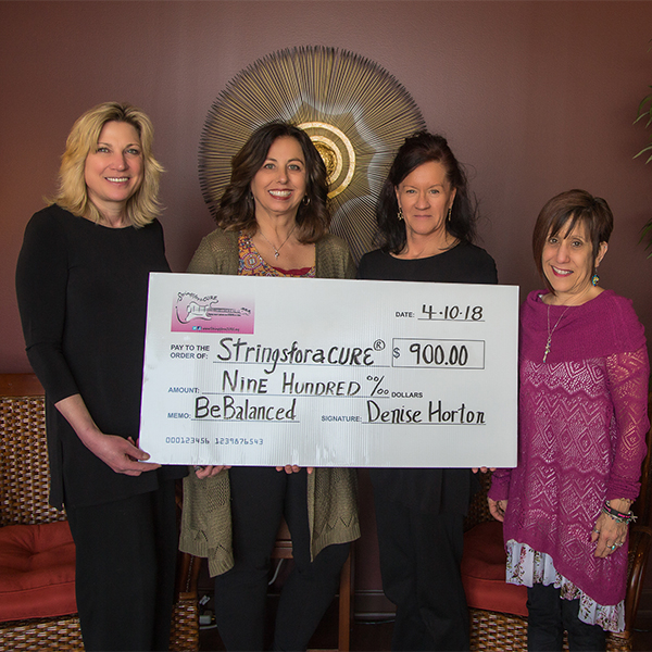 BeBalanced Raises Funds for StringsforaCURE