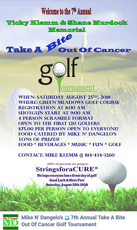 Take A Bite Out Of Cancer Golf Tournament
